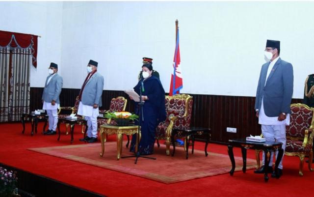 प्रधानमन्त्री देउवा र अध्यक्ष दाहालबीच मन्त्रिपरिषद् विस्तारबारे छलफल