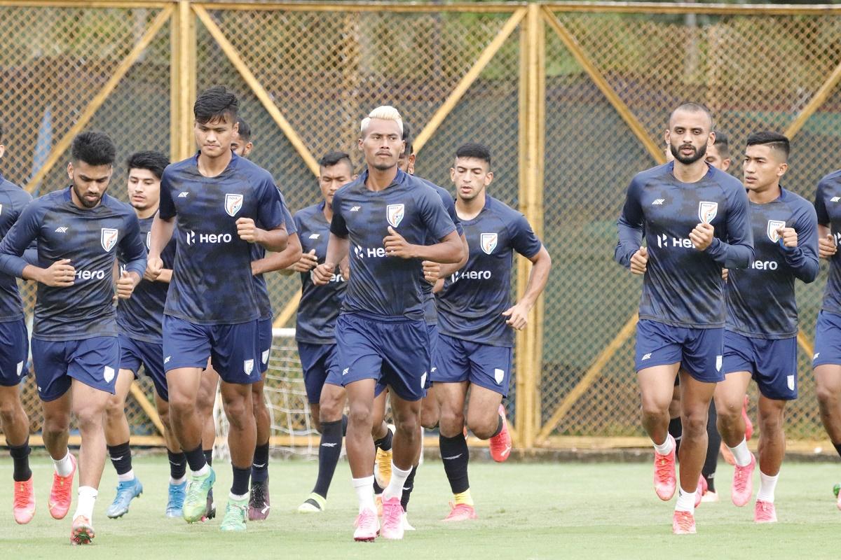 नेपालसित मैत्रीपूर्ण फुटबल खेल्न भारतीय टोली काठमाडौँमा