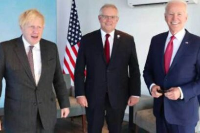 चीनसंग सशंकित हुँदै अमेरिका, बेलायत र अष्ट्रेलिया गरे आपसी सुरक्षा सम्झौता
