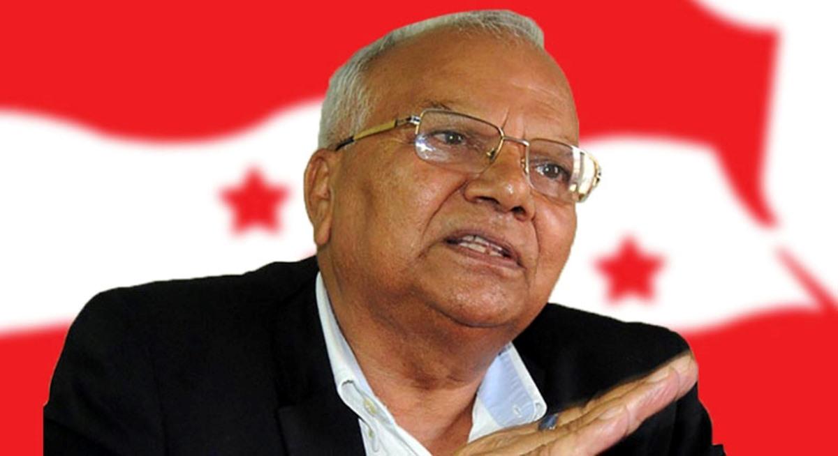 किन कांग्रेस निर्वाचन समितिका संयोजक यादवले दिए राजीनामा ?